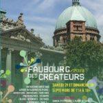 Programme du Faubourg des Créateurs 2018