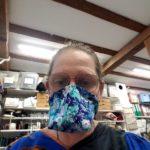 masque barrière bec de canard par l'Atelier la Colombe